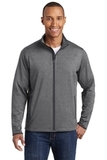 Sport-Wick Stretch Contrast Full-Zip Jacket Charcoal Grey Heather with Charcoal Grey Thumbnail