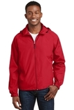 Hooded Raglan Jacket True Red Thumbnail