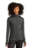 Sport-Tek ® Ladies Sport-Wick ® Flex Fleece Full-Zip Dark Grey Heather Thumbnail