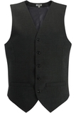 Redwood & Ross Signature Men's High-button Vest Charcoal Thumbnail