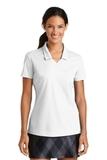 Women's Nike Golf Shirt Dri-FIT Micro Pique Polo Shirt White Thumbnail