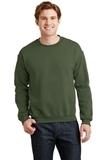 Heavy Blend Crewneck Sweatshirt Military Green Thumbnail