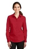Women's SuperPro Twill Shirt Rich Red Thumbnail