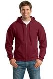 Full-zip Hooded Sweatshirt Cardinal Thumbnail