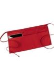 3 Pocket Waist Apron Red Thumbnail
