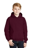 Hooded Sweatshirt Maroon Thumbnail