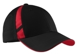 Dry Zone Mesh Inset Cap Black with True Red Thumbnail