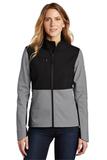 Ladies Castle Rock Soft Shell Jacket Mid Grey Thumbnail