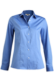 Women's No-iron Stay Collar Dress Shirt French Blue Thumbnail