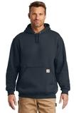 Carhartt Midweight Hooded Sweatshirt New Navy Thumbnail