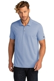 OGIO Code Stretch Polo Force Blue Heather Thumbnail