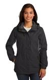 Women's Cascade Waterproof Jacket Black with Magnet Thumbnail