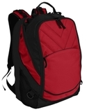 Xcape Computer Backpack Chili Red with Black Thumbnail