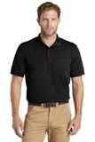 Industrial Snag-Proof Pique Pocket Polo Black Thumbnail