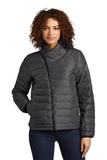 OGIO Ladies Street Puffy Full-Zip Jacket Tarmac Grey Thumbnail