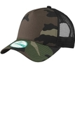 Era Snapback Trucker Cap Camo with Black Thumbnail