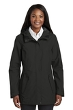 Women's Collective Outer Shell Jacket Deep Black Thumbnail