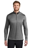 Nike Golf Dry 1/2-Zip Cover-Up Black Heather Thumbnail