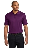 Performance Fine Jacquard Polo Shirt Violet Purple Thumbnail