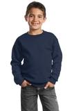 Youth Crewneck Sweatshirt Navy Thumbnail