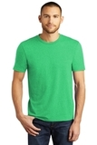 District Made Perfect Tri Crew Tee Green Frost Thumbnail