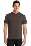 50/50 Cotton / Poly T-shirt Brown Thumbnail