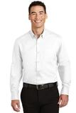 Tall SuperPro Twill Shirt White Thumbnail
