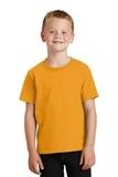 Youth 5.5-oz 100 Cotton T-shirt Gold Thumbnail