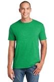 Softstyle Ring Spun Cotton T-shirt Heather Irish Green Thumbnail