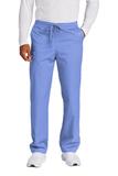 WonderWink Unisex Short WorkFlex Cargo Pant Ceil Blue Thumbnail