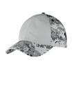 Colorblock Digital Ripstop Camouflage Cap Grey Camo with Grey Thumbnail