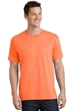 5.5-oz 100 Cotton T-shirt Neon Orange Thumbnail