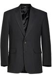 Men's Value Polyester Blazer Black Thumbnail