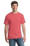 Heavy Cotton 100 Cotton T-shirt Coral Silk Thumbnail