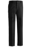 Men's Flat Front Pant Black Thumbnail