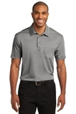 Silk Touch Performance Pocket Polo Gusty Grey Thumbnail