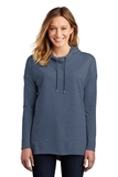 Women's Featherweight French Terry Hoodie Washed Indigo Thumbnail