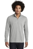 Tri-Blend Wicking 1/4-Zip Pullover Light Grey Heather Thumbnail