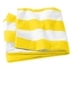 Cabana Stripe Beach Towel Sunflower Yellow Thumbnail