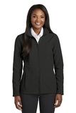 Women's Collective Soft Shell Jacket Deep Black Thumbnail