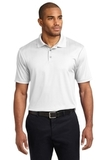 Performance Fine Jacquard Polo Shirt White Thumbnail