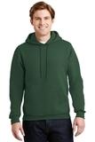 Super Sweats Pullover Hooded Sweatshirt Forest Green Thumbnail