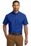 Short Sleeve Carefree Poplin Shirt True Royal Thumbnail