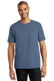 Tagless 100 Comfortsoft Cotton T-shirt Denim Blue Thumbnail