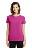 Women's Ultra Cotton 100 Cotton T-shirt Heliconia Thumbnail