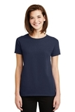 Women's Ultra Cotton 100 Cotton T-shirt Navy Thumbnail