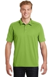 Sport-tek Contrast Stitch Micropique Polo Green Oasis Thumbnail