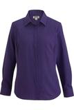 Women's Batiste Cafe Shirt Purple Thumbnail