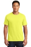 50/50 Cotton / Poly T-shirt Neon Yellow Thumbnail