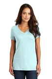 Women's Perfect Weight V-neck Tee Seaglass Blue Thumbnail